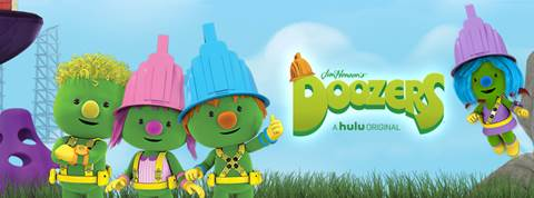 Doozers Original Hulu Series for Preschoolers