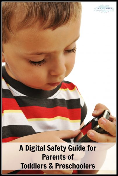 A Digital Safety Guide for Parents of Toddlers and Preschoolers