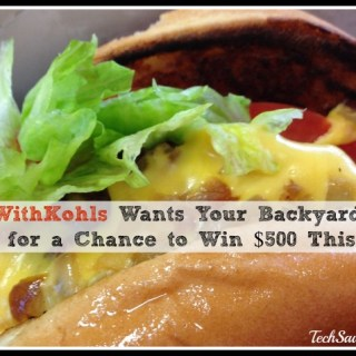#CookWithKohls Wants Your Backyard BBQ Photos for a Chance to Win $500 This Week