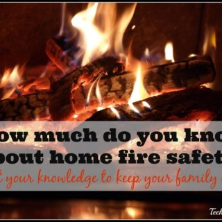 Home Fire Safety- Test your knowledge to keep your family safe