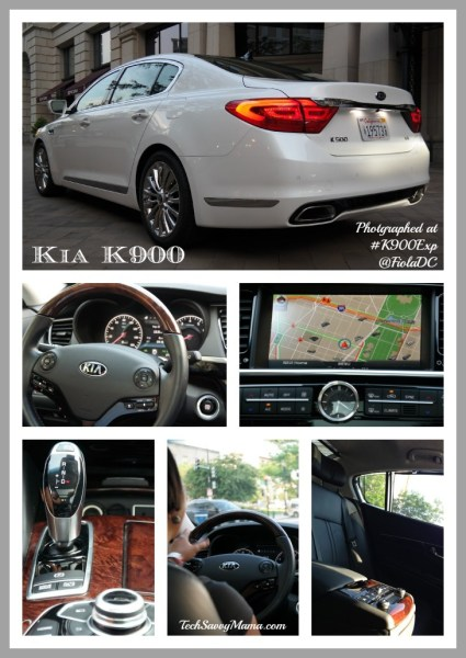 Kia K900 Photographed at #K900Exp @FiolaDC