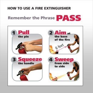 Kidde How to Use a Fire Extinguisher