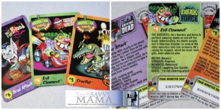 Monster 500 Trading Cards