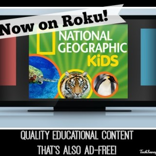 Stream Educational Ad-Free National Geographic Kids Content via Roku (w giveaway)