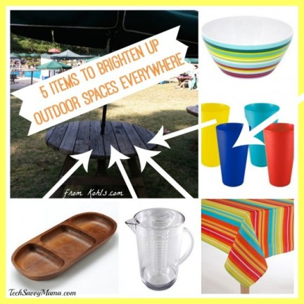 5 Items to Brighten Up Outdoor Spaces Everywhere from Kohls.com