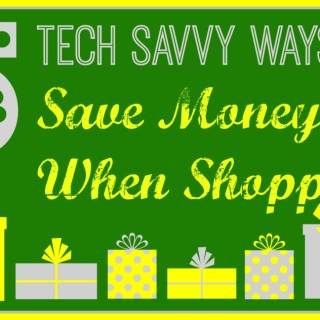 5 Tech Savvy Ways to Save Money When Shopping #My360Independence