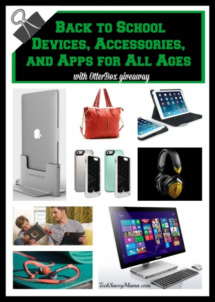 Back to School Devices, Accessories, and Apps for All Ages with OtterBox Giveaways