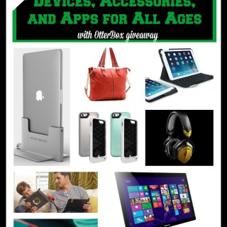 Back to School Devices, Accessories, and Apps for All Ages (w OtterBox & Philips headphone giveaways)