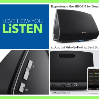 HEOS 5 by Denon Delivers Phenomenal Sound You Can Experience at Best Buy #AudioFest