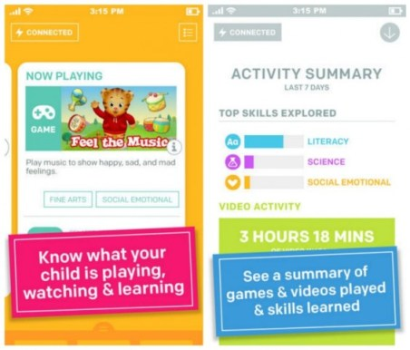 PBSKids Super Vision App for Parents