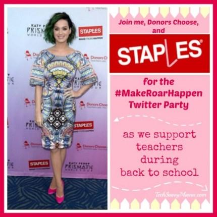 Staples #MakeRoarHappen Twitter Party