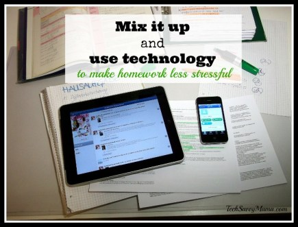 Use technology for a multimedia approach to homework