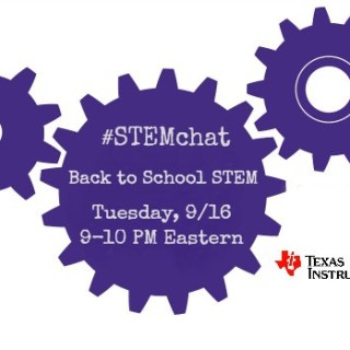 Texas Instruments Back to School #STEMchat Twitter Party  (Tuesday, 9/16, 9 pm ET)