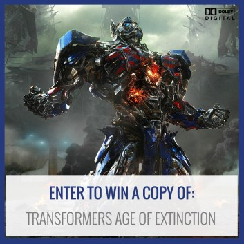 Enter to win a copy of Transformers: Age of Extinction