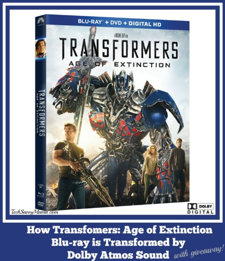 How Transformers Age of Extinction Blu-ray is Transformed by Dolby Atmos Sound