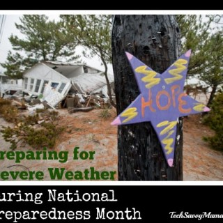 Preparing for Severe Weather During National Preparedness Month #LSSS