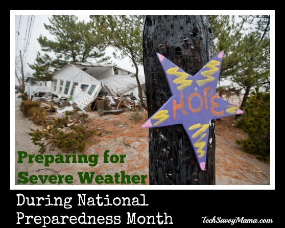 How to Prepare for Severe Weather During National Preparedness Month