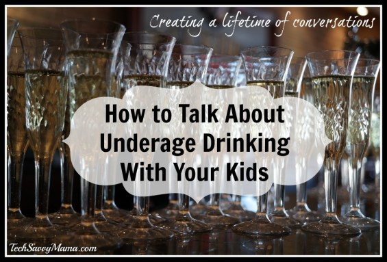 How to Talk About Underage Drinking With Your Kids