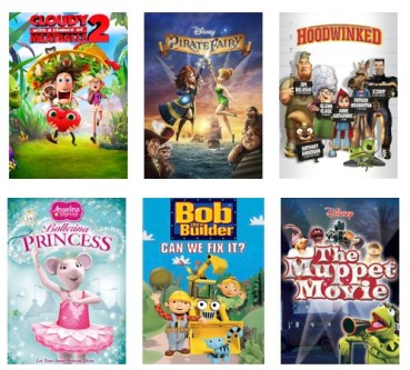 Movies for Preschoolers to Stream from Netflix