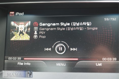 Gagnam Style in Korean Kia K900