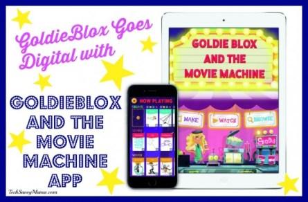 GoldieBlox and the Movie Machine app