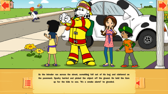 The Case of the Missing Smoke Alarms App to Teach Fire Safety