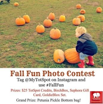 TotSpot Instagram #FallFun Contest Grand Prize
