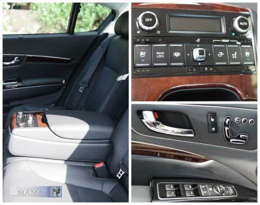 Seat Climate Controls Kia K900