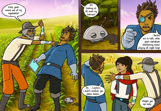 Quandary: Ethical Decision-Making with Graphic Novel Narrative