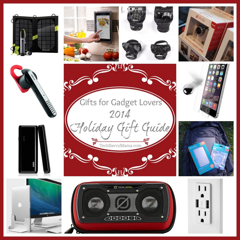 2014 Gift Guide: Gadget Lovers - Tech Savvy Mama