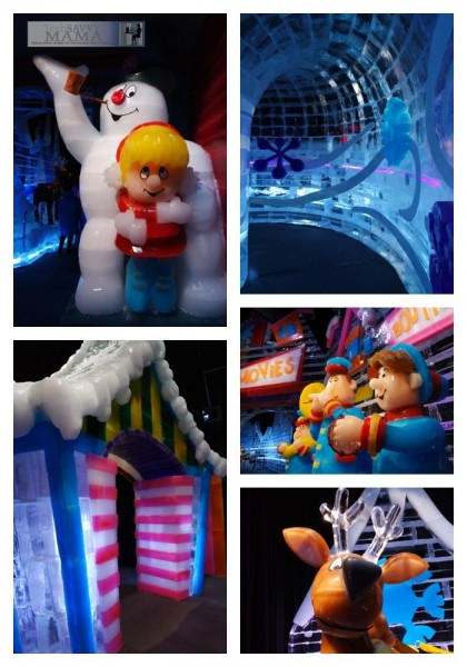 ICE featuring Frosty the Snowman at Gaylord National Harbor