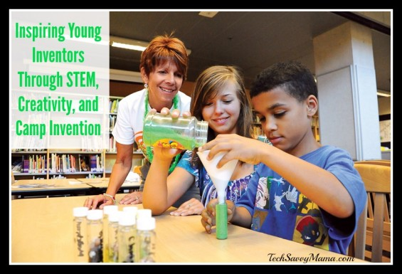Inspiring Young Inventors Through STEM Learning, Creativity, and Camp Invention