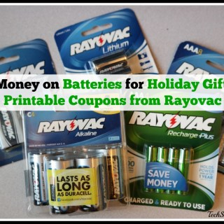 Save Money on Batteries for Holiday Gifts with Printable Coupons from Rayovac
