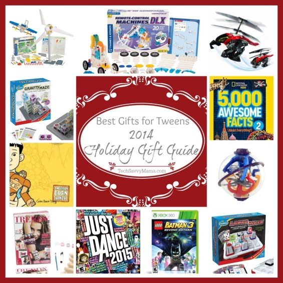 Tech Savvy Mama's 2014 Holiday Gift Guide- Best Gifts for Tweens