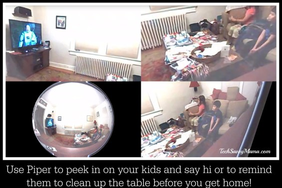 Use Piper to peek in on your kids