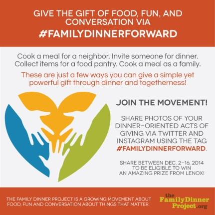 #familydinnerforward-contest
