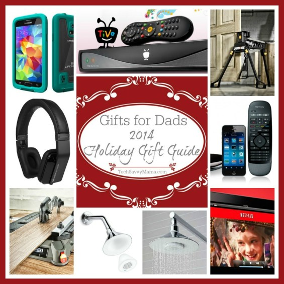 2014 Gift Guide Gifts for Dads on TechSavvyMama.com
