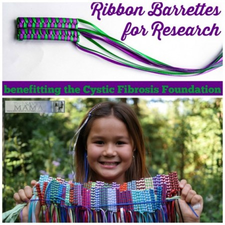2014 Gifts that Give Back- RibbonBarrettes.com benefitting the Cystic Fibrosis Foundation