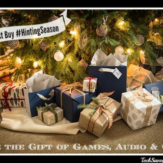 Give the Gift of Games, Audio, and GPS This Holiday Thanks to Best Buy #HintingSeason