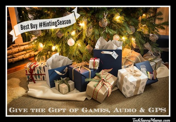 Give the Gift of Games, Audio and GPS Best Buy #HintingSeason