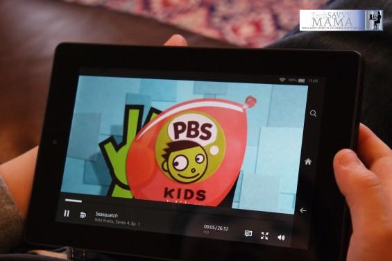 PBSKids on Amazon's Fire HD Kids Edition