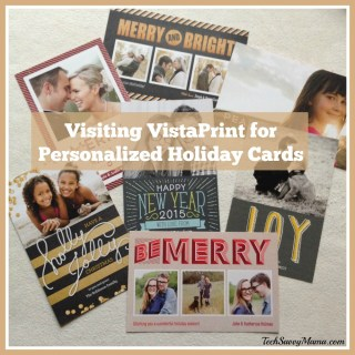 Visiting VistaPrint for Personalized Holiday Cards