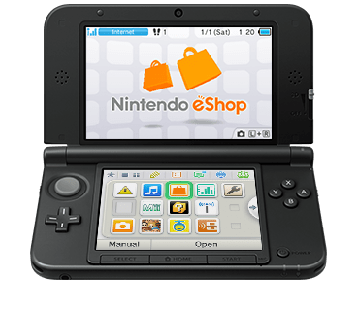 Downloading content from the Nintendo eShop directly to your 2DS/3DS