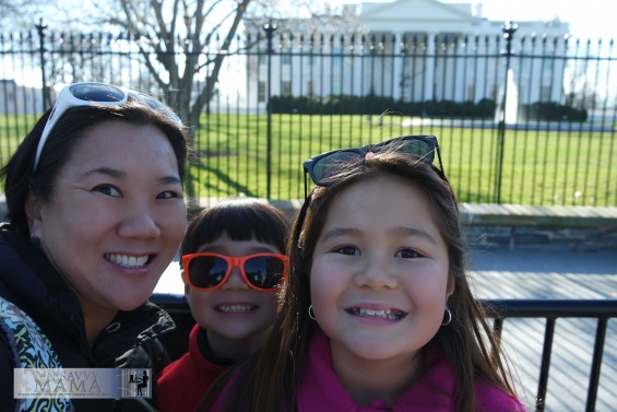 Family Selfie at the White House