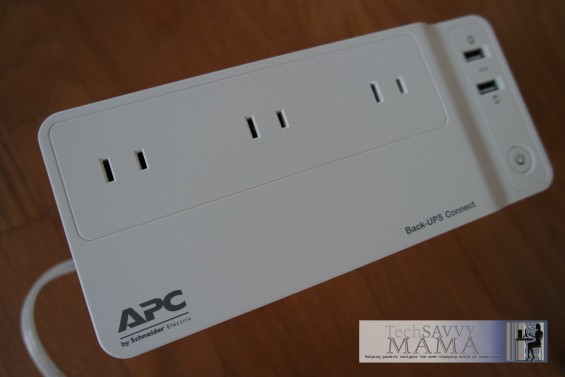 APC Back-UPS™ Network Battery Backup Closeup