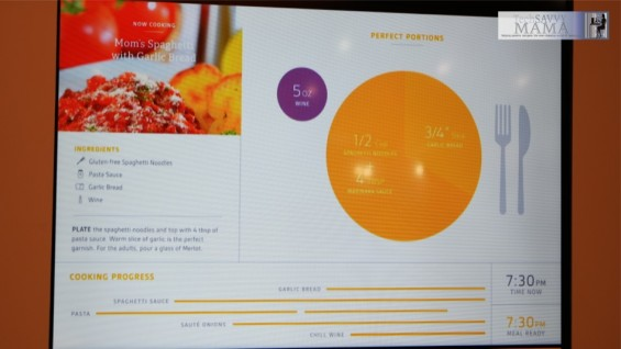 Whirlpool CES 2015 Interactive Kitchen of the Future 2.0 Meal Prep