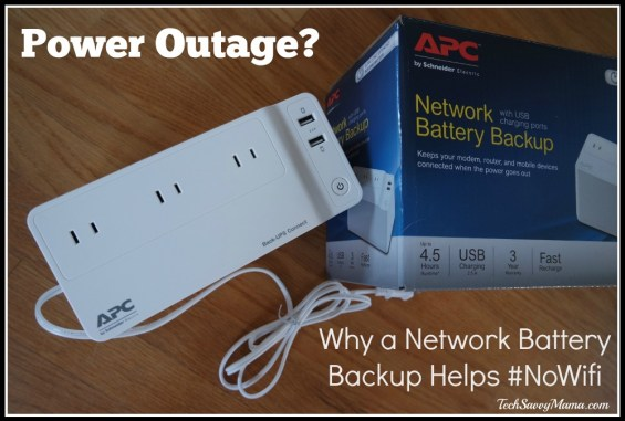 Why an Network Battery Backup helps with #NoWifi