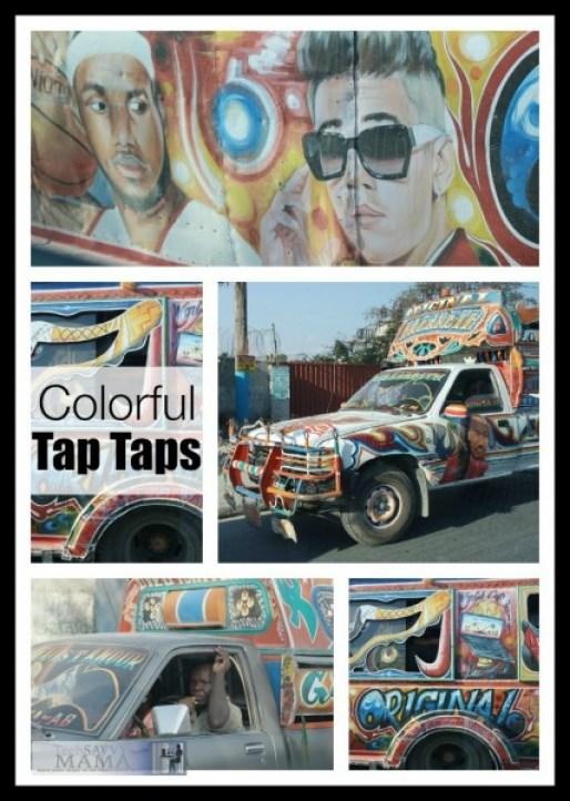 Colorful Haitian Tap Taps