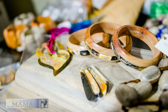 Horn and Wood Jewelry at Atelier Calla, Port au Prince, Haiti