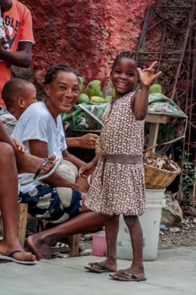 Child in Haiti